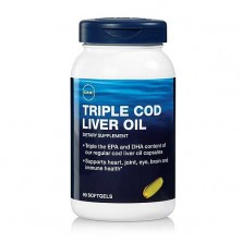 GNC Triple Cod Liver Oil 90 caps